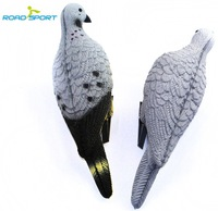 2Piece/Lot XPE Foam Durable Fadeless Simulation Grey Pigeon Decoys For Hunters Decoration Your Garden Free Shipping