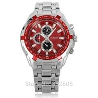 Fashion Curren Men Analog Quartz Dress Watch 2014 New Full Stainless Steel Belts Relogio Feminino Male WristWatches Clock items