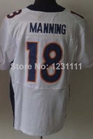 Denver #18 Peyton Manning Elite Jersey,Cheap American Football Jersey,Embroidery logos,Rugby Jersey,Authentic Jersey