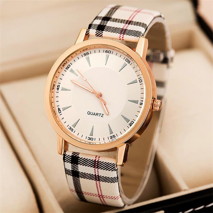 Free shipping Concise elegant fashion quartz watch Trendy casual women dress watches Fashion jewelry