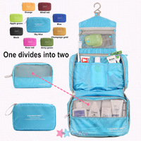 multicolor men Shaving Bag women Travel Toiletry Kits Camping bags Deluxe Large Hanging Hook Wash gargle cosmetic bag