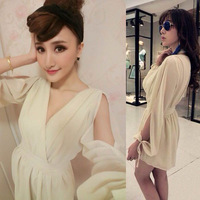 2014 New Fashion Summer Sexy Club Jumpsuits V-neck Off Shoulder Rompers Womens Jumpsuit Women Shorts Playsuit 4 Colors