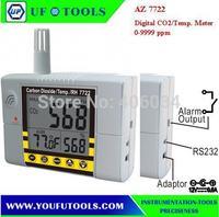 AZ 7722 CO2 Meter\ Wallmount CO2 Temp. & RH% Meter 0-9999ppm