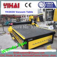 China jinan good quality cnc vacuum bed 2030 china cnc router