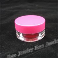 Wholesale Hot Portable Cylindrical Transparent Plastic Box  Jewelry Storage Box  Makeup  Jewelry Box
