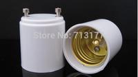 50pcs/lot LED GU24 to E27  Base Adapter Holder  Converter light lamp base E27 lamp LED conversion head Free shipping
