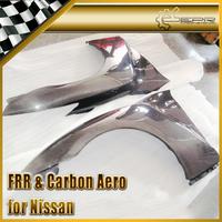 For Nissan R35 GTR Carbon Fiber OEM Front Fender 2pcs Pair