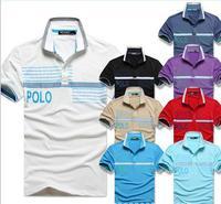 Special for 2014 new foreign trade Musharraf polo shirt t-shirt printing pieces