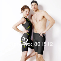 JOB Brand  women one-piece compression Racing  strapped swim suit in leg