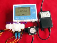 1/2 tube smart quantitative machine temperature flowmeter automatic filling machine digital flow meter liquid packer