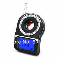 Free Shipping by DHL1 pcs  Anti Spy Full Band Detector Bug Detection Hidden Covert Digital Video Camera