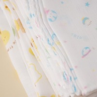 Free shipping! 5pcs/lot high quality double cotton gauze baby's handkerchief  milk towel for baby