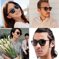 Big Brand Design Star Models  for Men and Women Square Metal Rivets Glasses Sunglasses Yurt Free Shipping #B-158