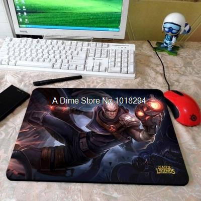 is Hired Gun Lucian White Hired Gun Lucian Mouse Pad Lol