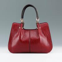 2015 New Women Leather Handbag Vintage Crossbody Bag Natural Leather Tote Fashion Shoulder Bag Women Messenger Bag Bolsas