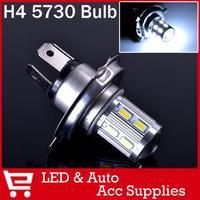 2x CREE H4 HB2 9003 LED Bulb White 6000K Cree Emitter Lens lamp DRL for SAMSUNG 5730 High Power LED Projector Fog Light