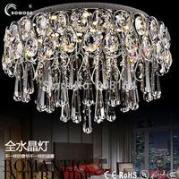 Modern crystal ceiling light of stainless steel ceiling light