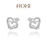 Roxi jewelry fashion earring austria crystal platier dcrv  stud earring   2020245360