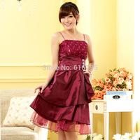 Free Shipping 2014 Fashion Uncommon Ladybro Party Dress