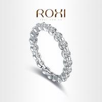 Roxi fashion jewelry hearts and arrows zircon  finger ring  101033324