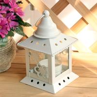Fashion white iron lantern wedding and home decoration