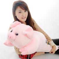 Pig plush toy pig doll cloth doll birthday gift girls gift Large pillow