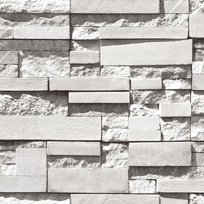 Steenmotief promotie winkel voor promoties steenmotief op for Black 3d brick wallpaper