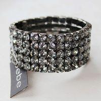 accessories fashion female fashion full rhinestone bracelet elastic ring all-match super