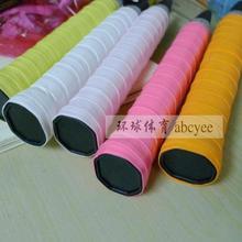 2014 squash racket sweat head band [genuine ] abcyeen10 poop i single clap super sticky glue badminton racket bags sweat band(China (Mainland))