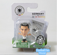 New!Free shipping 14 brazil world cup Soccerstarz football star dolls/toy figures of the Klose in Germany,football souvenir