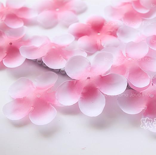 1000pcs Simulation Cherry Blossom Petals Wedding Petals Rose Petals Fake Artificial Flower For Home And Wedding Decoration(China (Mainland))