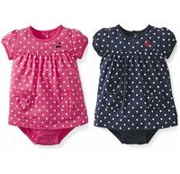 2014 New spring summer 100% cotton 0-24M baby girl Dress Romper girls jumpsuit brand girl jumpsuit