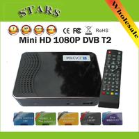 Mini Set Box HD PVR Digital Terrestrial MPG4 H.264 DVB-T2 TV Receiver DVB T2 Tuner With MSD7816 Support USB/HDMI,Free shipping