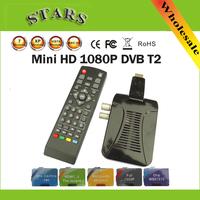 Mini 1080P HD Digital Terrestrial MPEG4 H.264 AV IR DVB-T2 Tuner Mini DVB T2 TV Set Box Receiver with MSD7816 Chip,Dropshipping