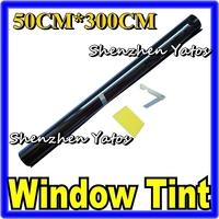 Car Solar Window Tint Film/ Auto Window Tint Wrap Black 2% 50CM*300CM