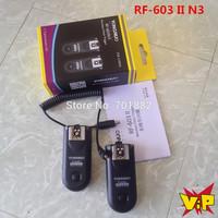 Yongnuo RF-603II N3, RF603 ii RF 603 Flash Trigger 2 Transceivers for Nikon D90/D5000/D3100/D3200/D7000//D5100/D600