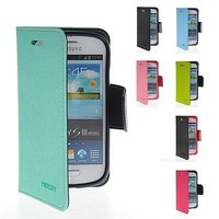 Aomail Free Shipping New Leather Wallet Card Pouch Case Cover For Samsung Galaxy S3 Mini I8190