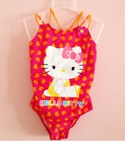 8A10013 rushed high quality and a killy logo for the cute girl and children swimming baby girl swimsuit baby
