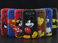 For Samsung Galaxy S3 I9300 Case HOT 3D Mickey Minnie Batman Superman Spiderman Leather hard cases covers for samsung i9300 9300