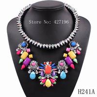 fashion design Choker Women Necklaces & Pendants Fashion Necklace 2014 Elegant Luxury Big Pendant Necklace Choker