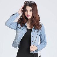 blue jeans jacket women oversized camisa denim jeans feminina blusa jeans shirt jaqueta jeans coat winter plus size xxxxl S-4XL