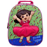 2014 cartoon mochila infantil character Spiderman Cars Princess Dora bag 3-6 years children school bags boys girls kids backpack