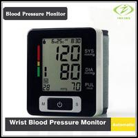 Automatic Digital Wrist Blood Pressure and Pulse Monitor Sphygmomanometer OximeterPortable Blood Pressure Monitor