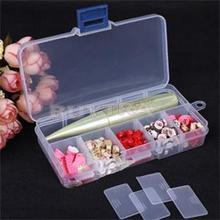 2014 New Home Using Mini Organizer for Jewelry Plastic Storage Boxes Adjustable Jewelry Box