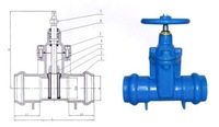 Gate Valves Resilient seated gate valves NRS Socket ends