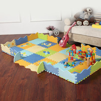 Hot sales top eco-friendly puzzle baby play crawling mat child foam puzzle mats Protection mat  9pcs one lot