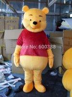 High quality Adult size Cartoon Mascot Costume Winnie Bear cosplay Crazy Sale