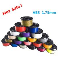 13 Colors 3D Printer Filament ABS 1.75mm 1KG Plastic Rubber Consumables Material