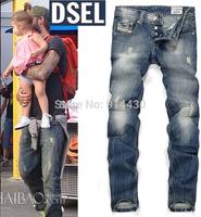 2014 Mens Jeans Men Hot Sale Famous Brand Fashion Denim Jeans Men Large Size