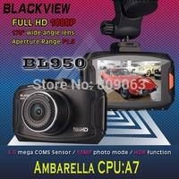 New BL950 Ambarella A7 Chipset Car Camera Recorder Full HD 1080P 30fps with 2.7 inch LCD Screen+ HDR+G-Senso+ Night Vision+H.264